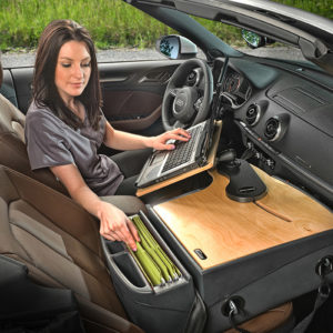Auto Reach Desk Birch