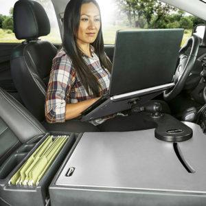 Auto Reach Desk Grey